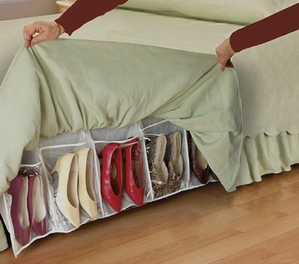 Under Bed Shoe Storage,