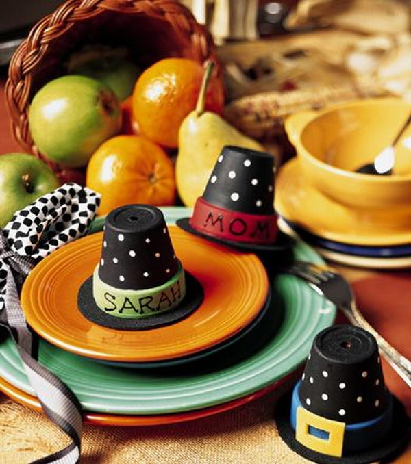 Fun and Creative Thanksgiving Place Cards. Decorate your tables and offer a small, but effective, way to add an air of festivity.
