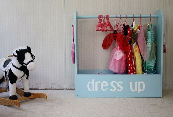 dress up box for little girl,