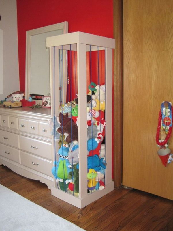 stuffed toy storage,