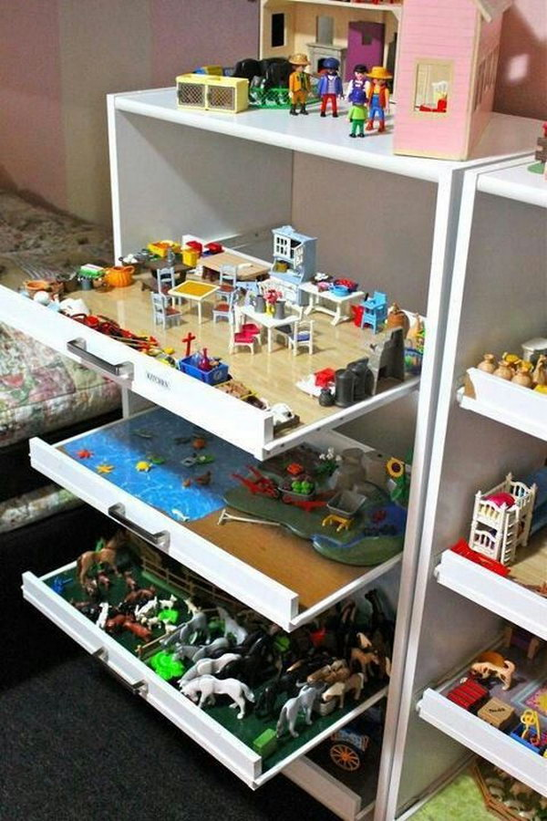 drawer toy storage,