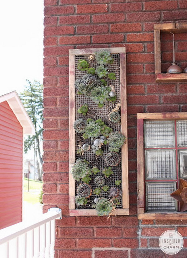 Vertical Garden Ideas Diy Living Walls