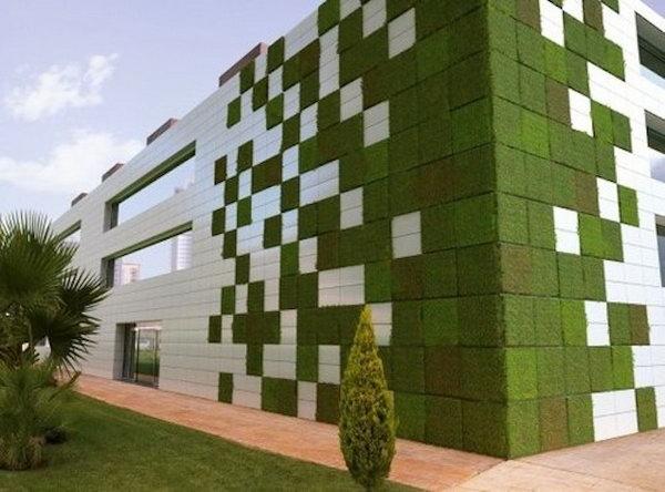Vườn tetris mô-đun.  Nó cho phép thực vật mở rộng lên trên thay vì phát triển dọc theo bề mặt của khu vườn.  Không chiếm nhiều không gian và trông rất đẹp cùng một lúc.