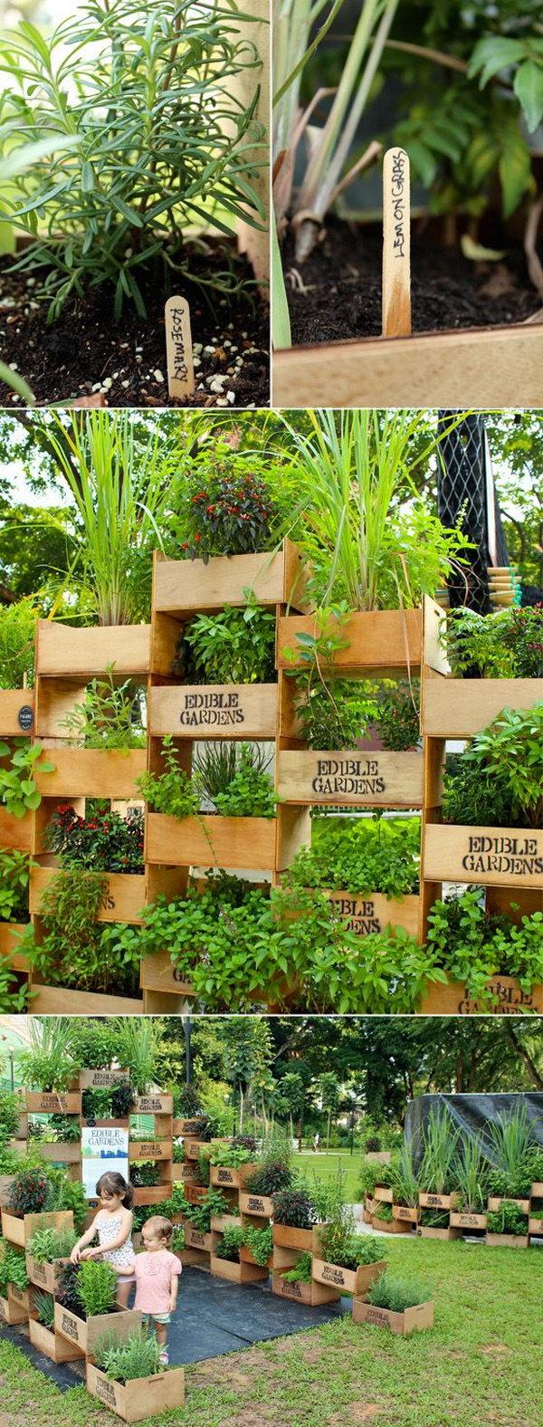 20+ Cool Vertical Gardening Ideas 2017
