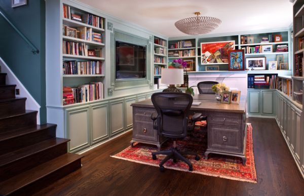 Cool Home Library Ideas. Decorate your home library so it becomes your private sanctuary where you can read, study and relax.