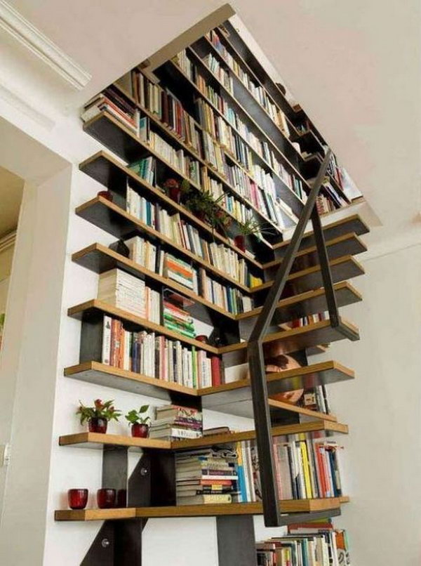 Enjoyable Cool Home Library Ideas Ideastand Largest Home Design Picture Inspirations Pitcheantrous