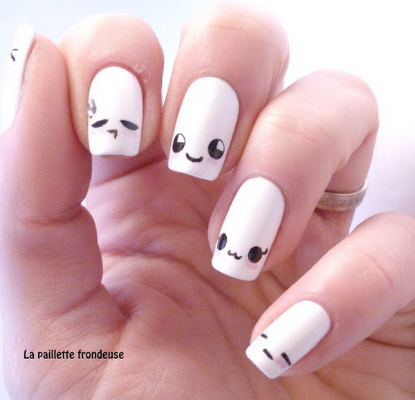 Smiley Face Nails Best Nail Designs 2018