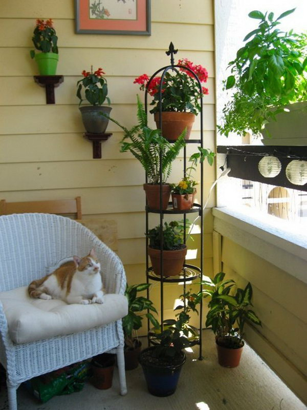 Balcony garden design ideas ideastand