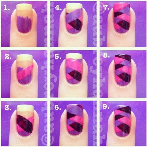 Fishtail Manicure,
