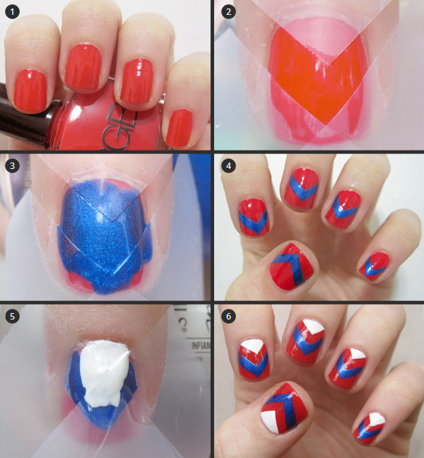 Cool And Easy Step By Step Nail Art Designs 2017