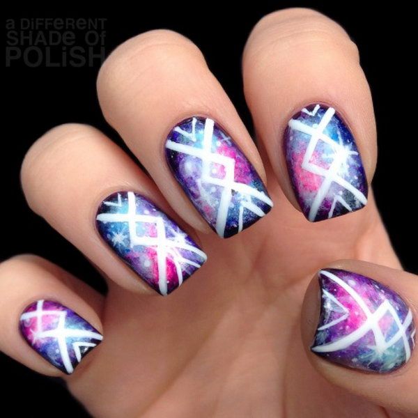 Tribal nail designs graham reid cool tribal nail art ideas and designs work to mark rites of passage helped prinsesfo Image collections