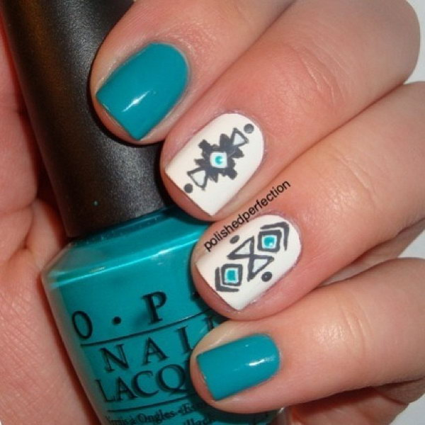 Cool Nail Art: Cool Tribal Nail Art Designs 2017