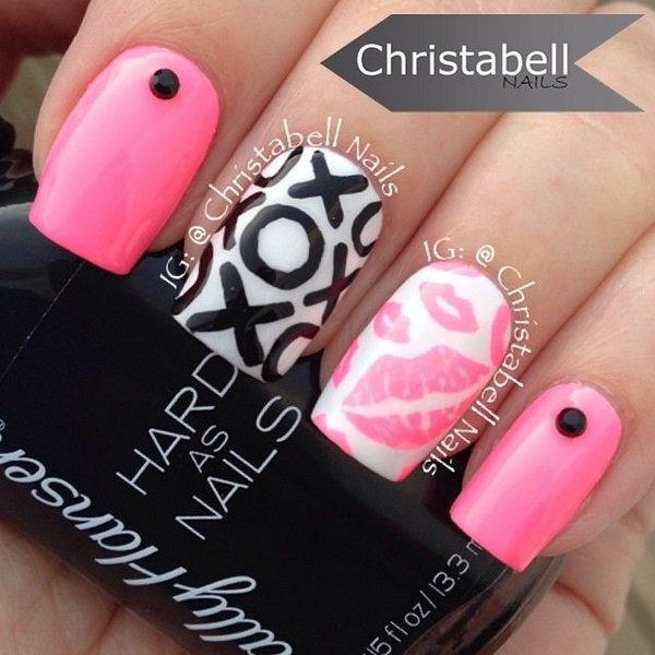 Kiss Nail Art Designs Image collections - nail art and nail design
