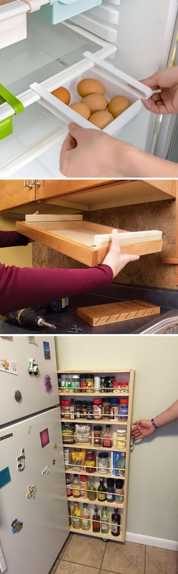 Clever Kitchen Storage Ideas.