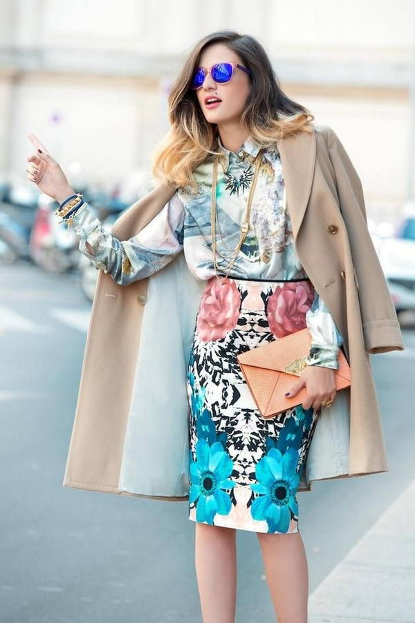 Stylish Pencil Skirt Idea. Shows the legs which keep it decidedly feminine. With a tucked-in shirt or belted jacket, the pencil skirt gives you a long, lean line.