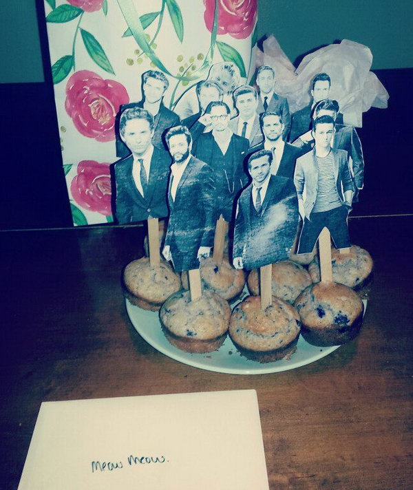 A Box Of Muffins Must Be Great Gift On Your Best Friends Birthday
