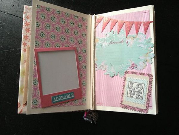 Scrapbook A Nice Customized Is An Amazing Present For Your Bestie To Record Good