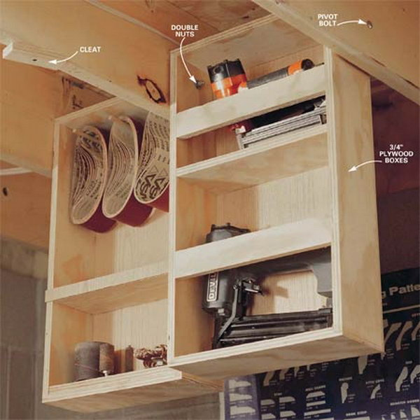 Lovely Best Ideas to Suspend Items In Garage Collections