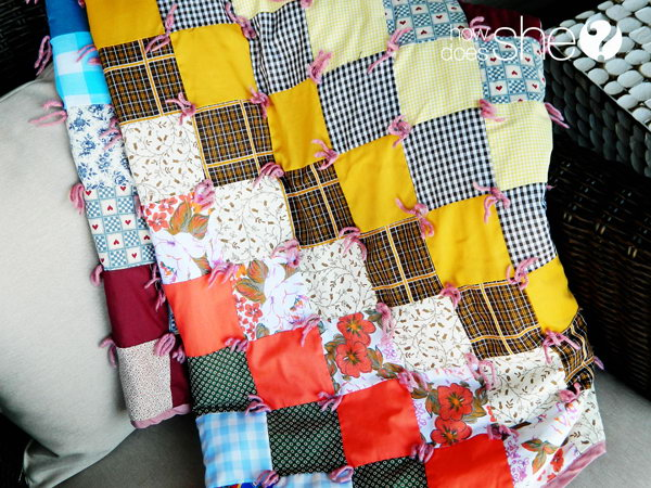 Special Handmade Quilt. Make this special quilt from blocks of the hand me down clothes for the graduate to snuggle in while he or she is far away from home. This special graduate gift will definitely be your prized possessions to treasure.