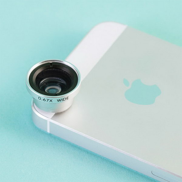 Wide Angle and Macro Lens. This macro leas with solid aluminum and outfitted with thick, high clarity glass will fit almost any phone or device that has a camera in it. The graduate will adore this awesome gadget with not doubt.