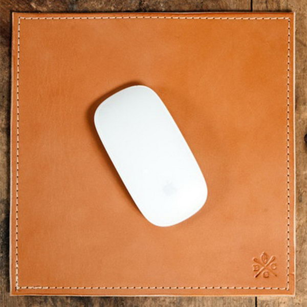 Bexar Goods Mouse Pad. Dress up the graduate's new desk with a fancy mouse pad that has hand beveled and burnished edges for a finished look.