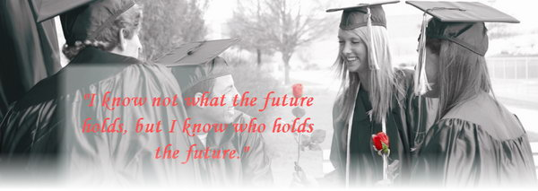 Holds the Future Graduation Quote. I know not what the future holds, but I know who holds the future. Inspire the graduate to keep fighting and pursue a bright future with this wise quote.