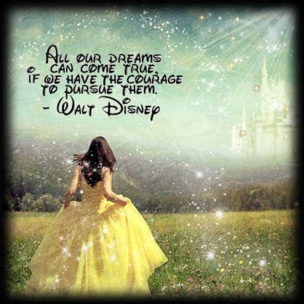 Pursue Your Dream Graduation Quote. All our dreams can come true if we have the courage to pursue them. This quote by Walt Disney will encourage the graduates be brave to  turn their dreams into reality with no doubt.