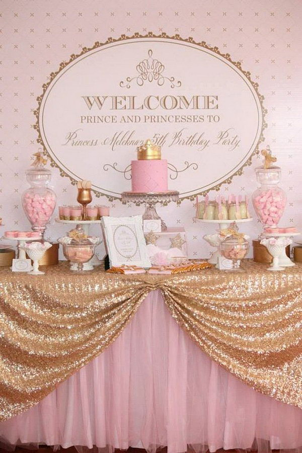 princess pink and gold royal backdrop the pink and gold royal