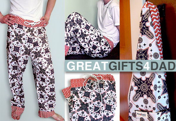 DIY Pajama Pants for Dad. Cargo pocket PJ pants comfy pajama pants are perfect for your Daddy's Father's day gift. See the how to do it tutorial step-by-step here.