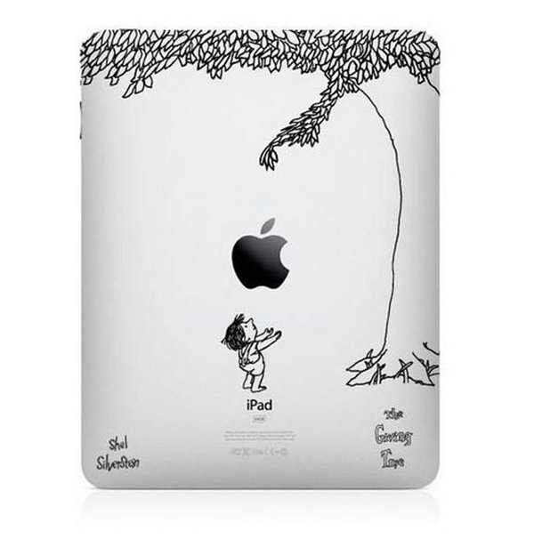 Giving tree engraving ideas.