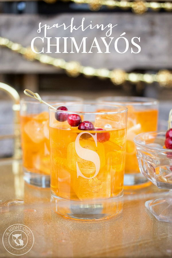 Sparkling Chimayo Cocktail
