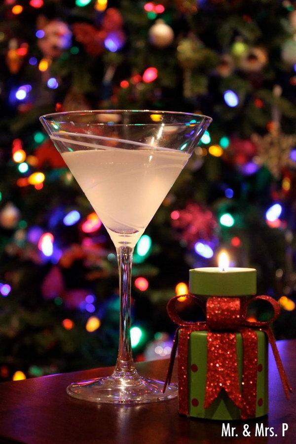Ginger Martini Cocktail