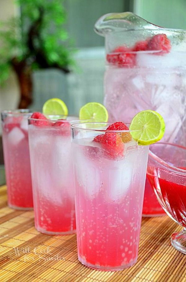 Raspberry Key Lime Italian Soda. This delicious and refreshing raspberry key lime Italian soda will be a great treat  in  your summer party.  Get the tutorials here