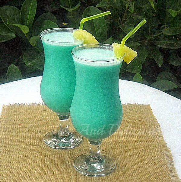 Blue Hawaiian Cocktails