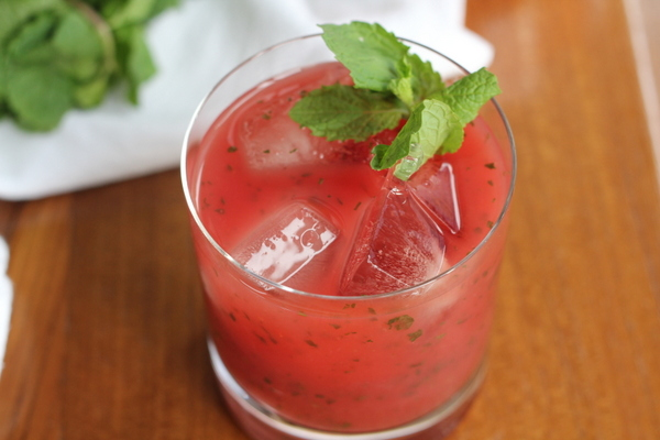Watermelon Mint Lemonade. This refreshing summer drink will ward off the heat with the bright combination of watermelon, mint, and lemons.