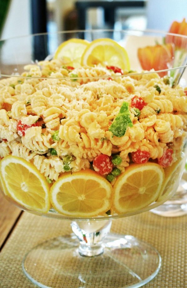 Cool Lemon Pasta Salad
