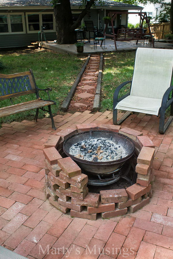 How To DIY A Fire Pit For Your Backyard Ideas And
