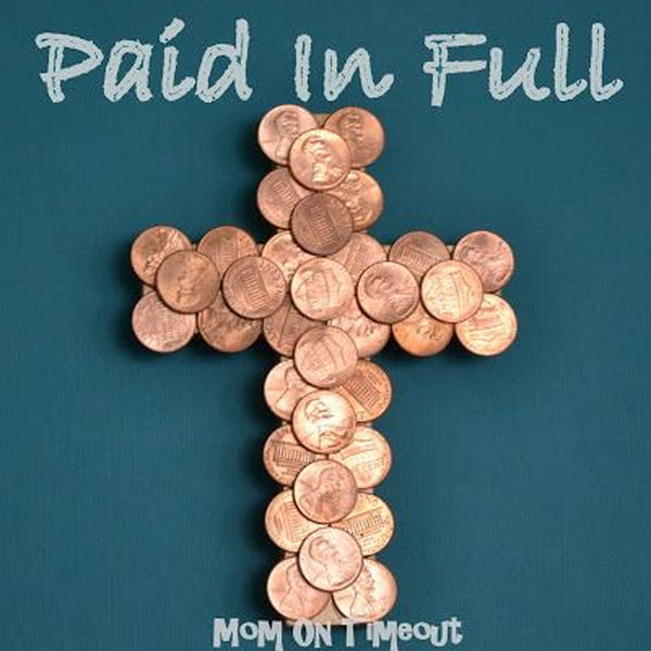 DIY Penny Cross. Get the tutorial