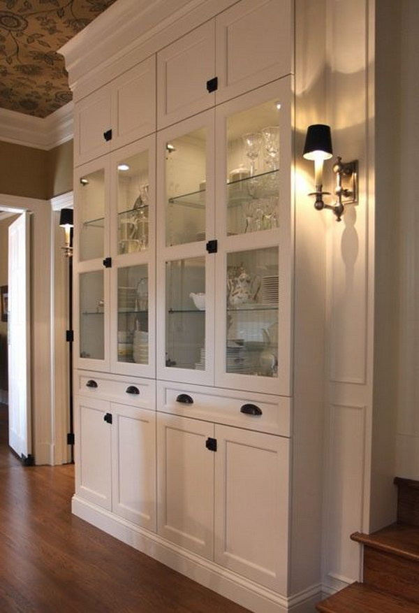DIY Stylish BILLY Built-in Cabinet.