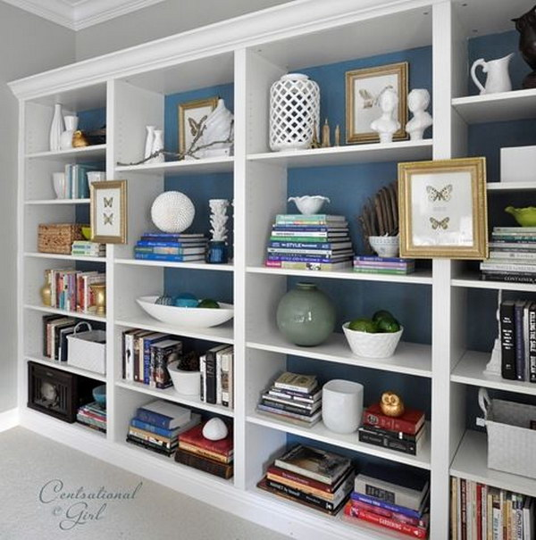 diy billy bookshleves - Ikea Built In Bookshelves