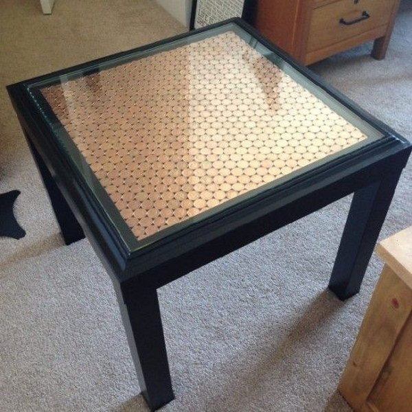 20+ Creative IKEA Lack Table Hacks 2017 -> Table Tv En Coin