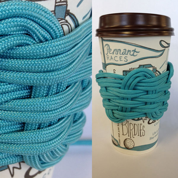 Paracord Coffee Sleeve