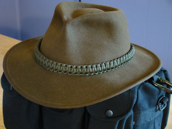 Hat with Paracord Band