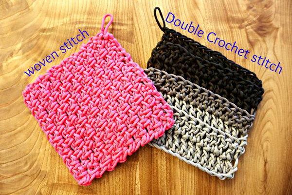 Paracord Crochet Trivets