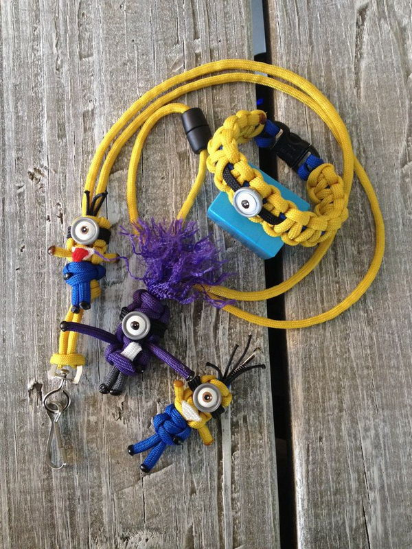 DIY Paracord Minion