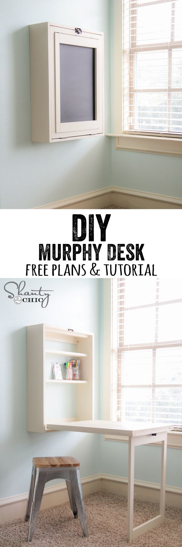 Free And Easy DIY Desk. Itu0027s A Great Desk Looks So Stylish And Itu0027s Cheap