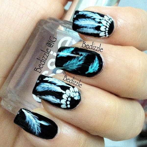 35 Cool Dream Catcher Nail Designs For Native American