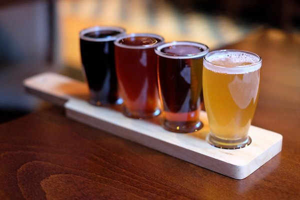 Beer Bliss. Invite your buddy to the local brewery for some beer flights. It's easy to test your relationship out of the beers.