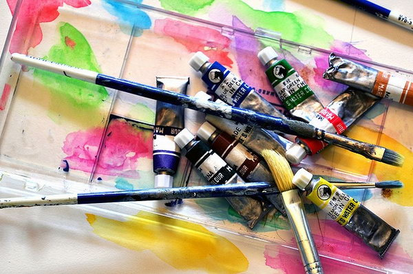 Artistic Painting. It's such a creative way to display your painting skills with your buddy and show the colors of your world together.