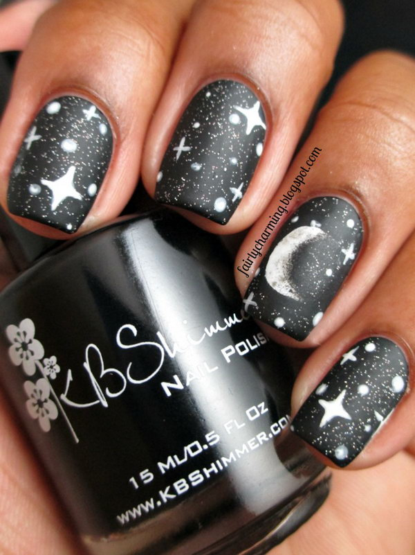 50 Cool Star Nail Art Designs With Lots Of Tutorials And Ideas 2017
